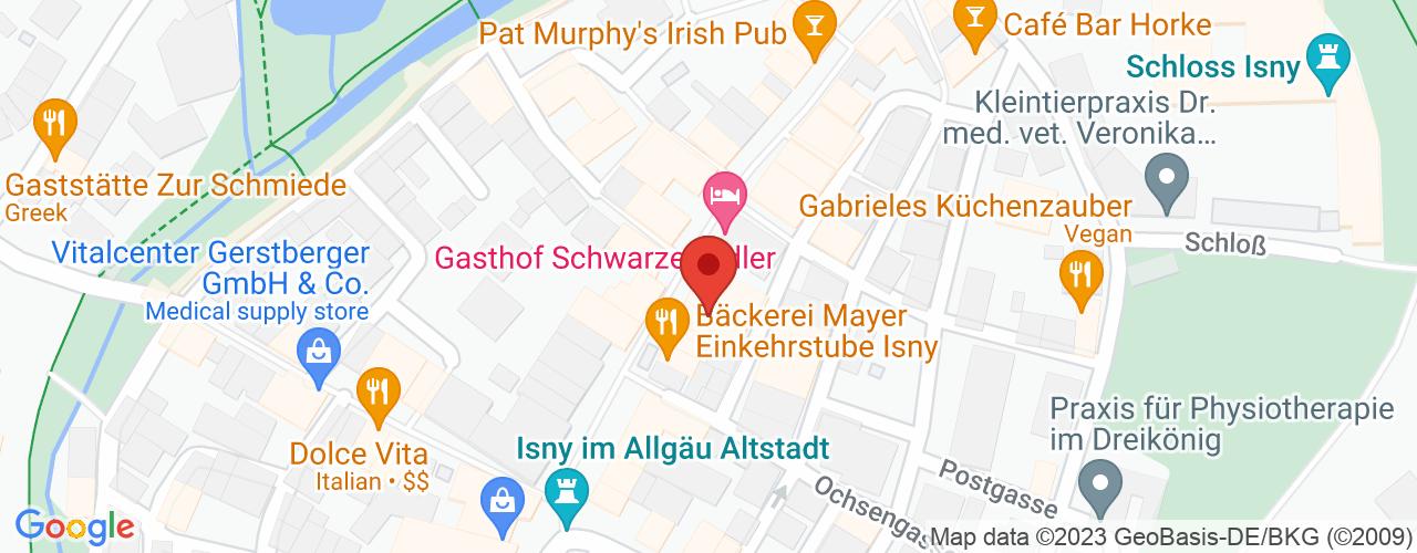 Karte von Bodymed-Center Isny