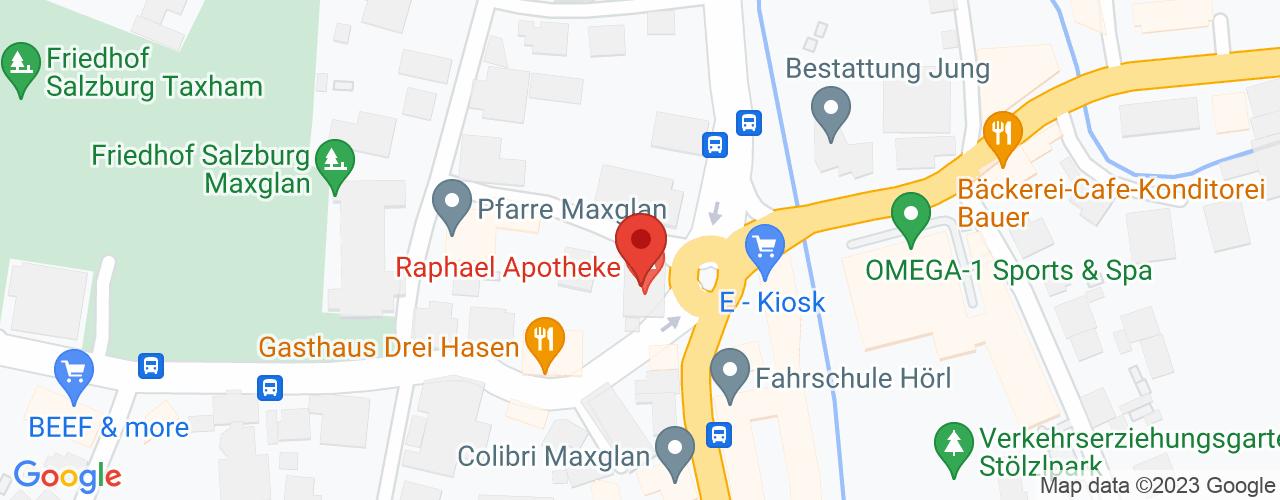 Karte von ♛ PREMIUM Bodymed-Center Salzburg Maxglan