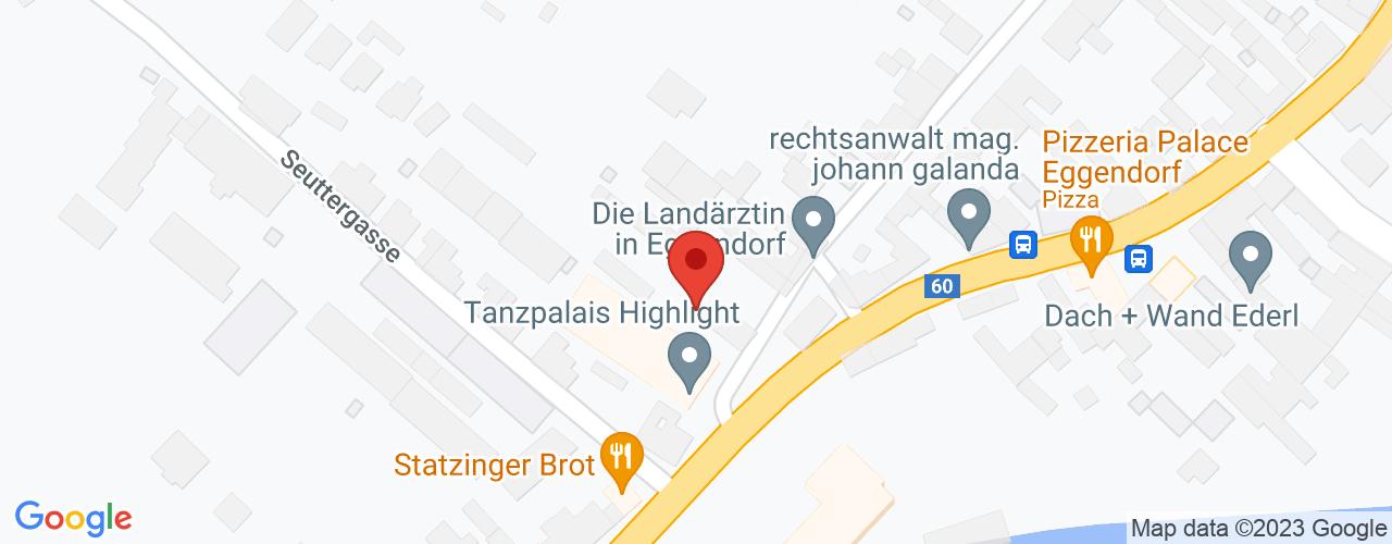 Karte von Bodymed-Center Kräuter Mühle Eggendorf