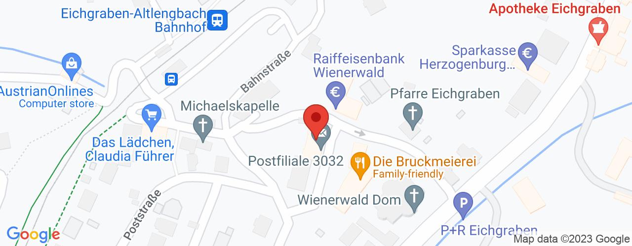 Karte von Bodymed-Center Eichgraben