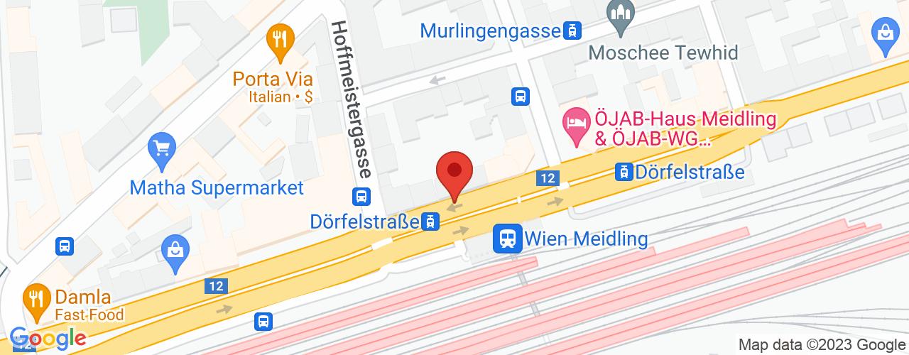Karte von Bodymed-Center RMZ Meidling