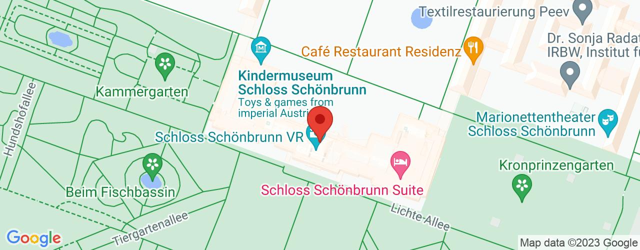 Karte von Bodymed-Center Wien 1130 Gartendirektorst