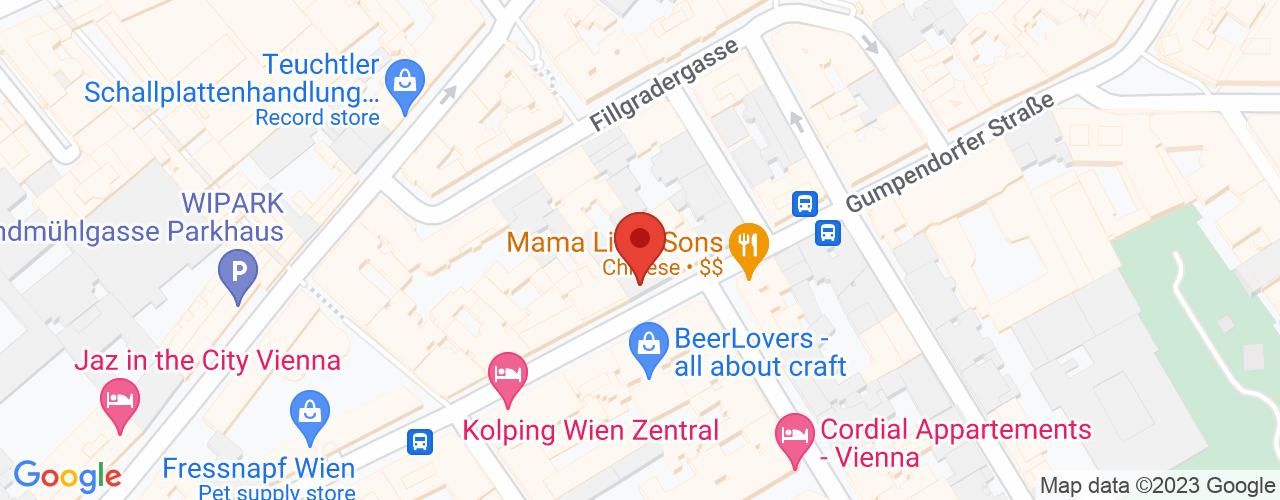 Karte von Bodymed-Center Gumpendorf