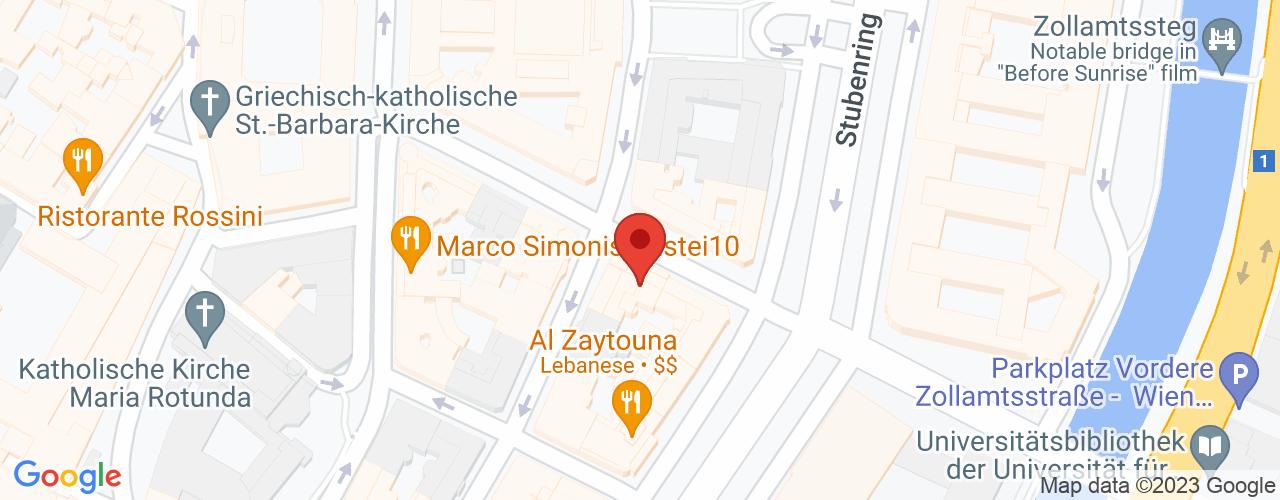 Karte von Bodymed-Center Wien 1010 Dr. Rossek