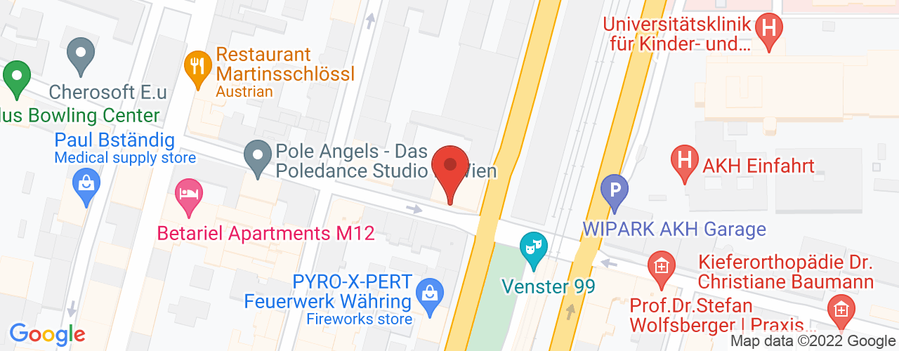 Karte von Bodymed-Center Wien 1180