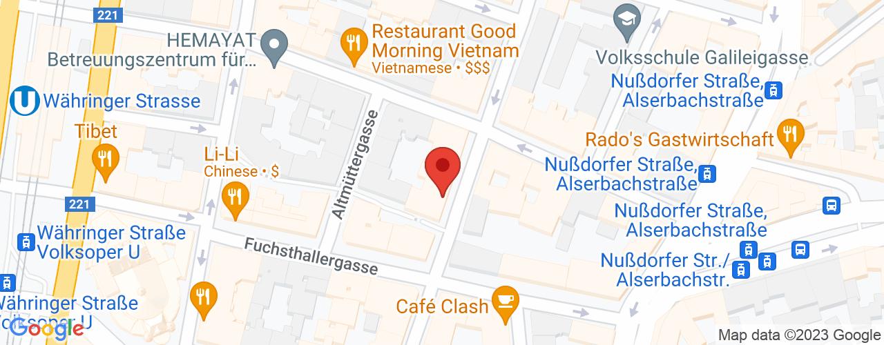 Karte von Bodymed-Center Wien Dr. König