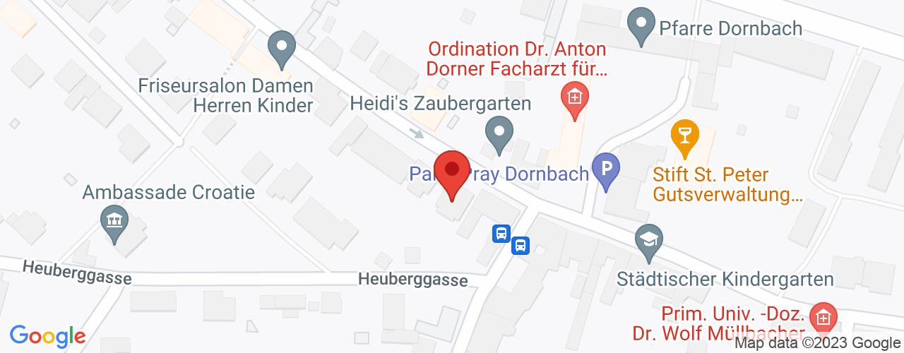 Karte von Bodymed-Center Dornbach