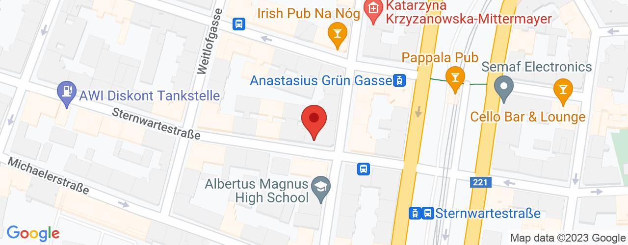 Karte von Sternwarte-Apotheke