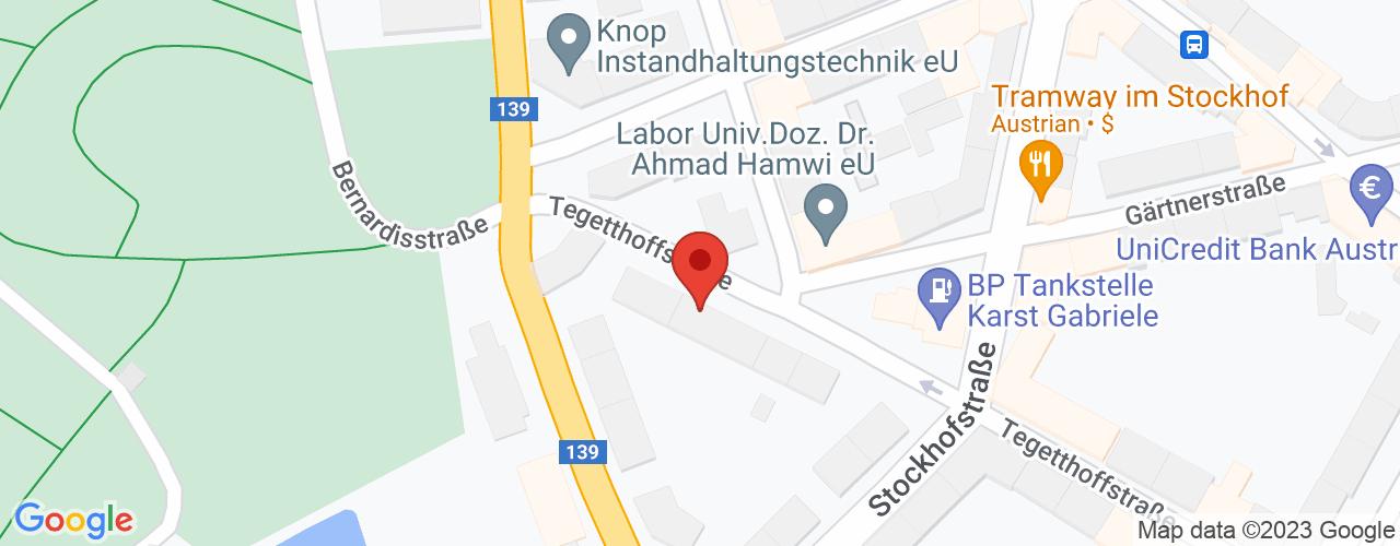 Karte von Bodymed-Center Linz