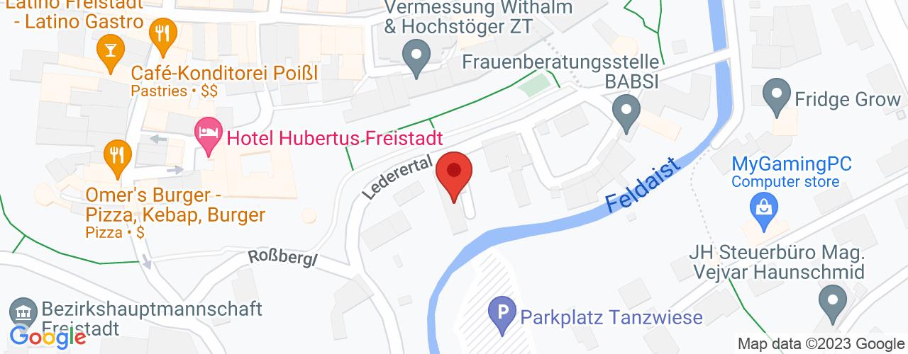 Karte von Bodymed-Center Freistadt