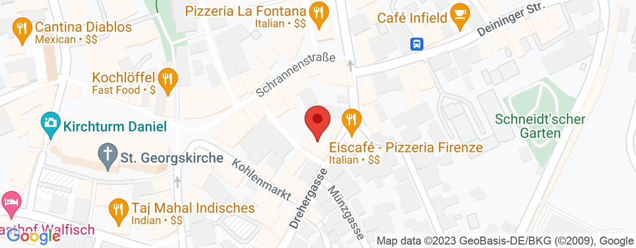 Karte von ♛ PREMIUM Bodymed-Center Nördlingen