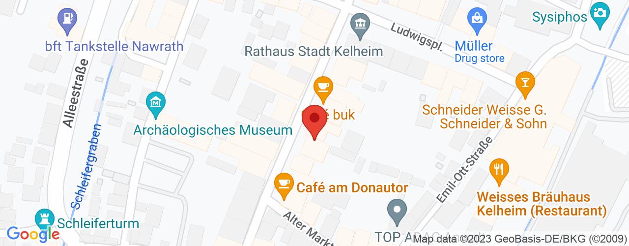Karte von Bodymed-Center Kelheim