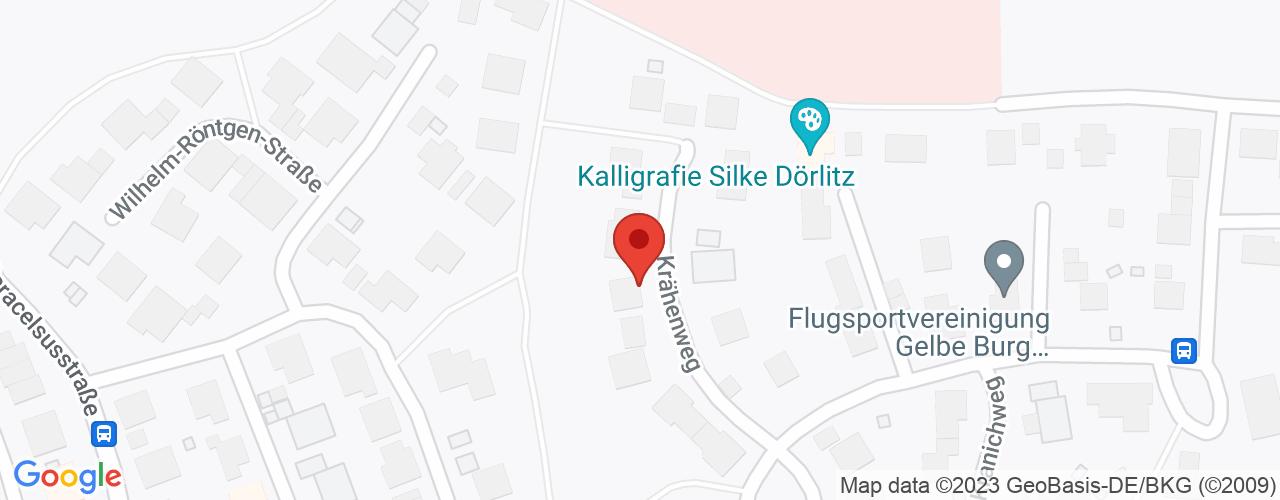 Karte von Bodymed-Center Gunzenhausen