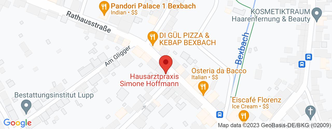 Karte von Bodymed-Center Bexbach