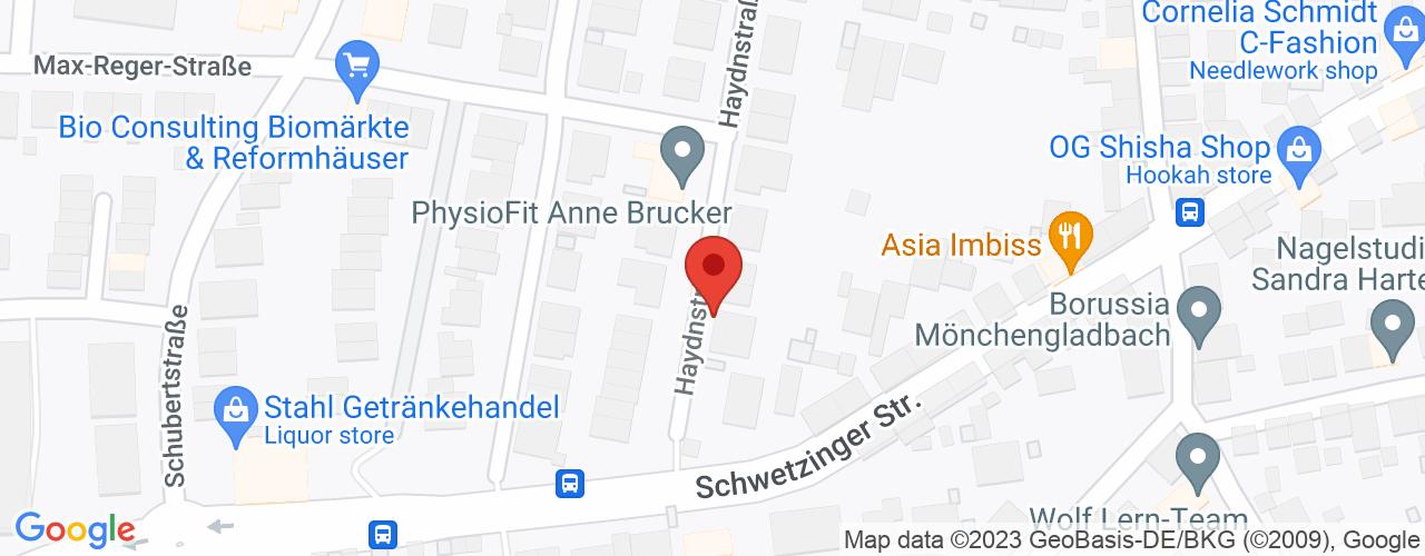 Karte von Bodymed-Center Plankstadt