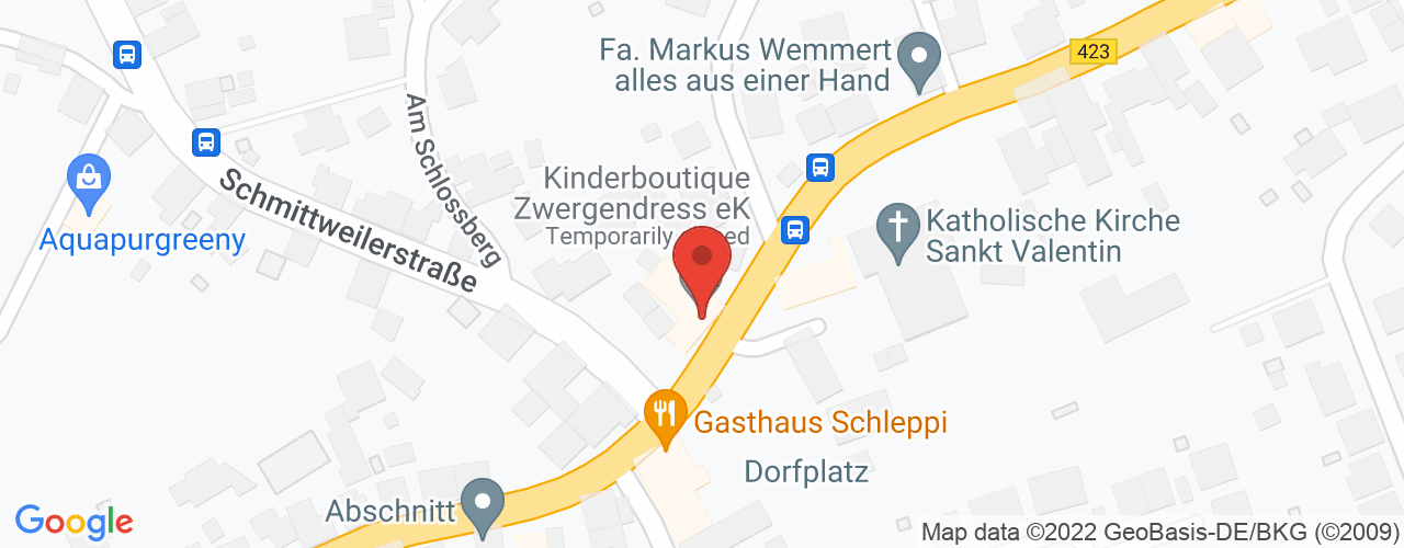 Karte von Bodymed-Center Schönenberg-Kübelberg