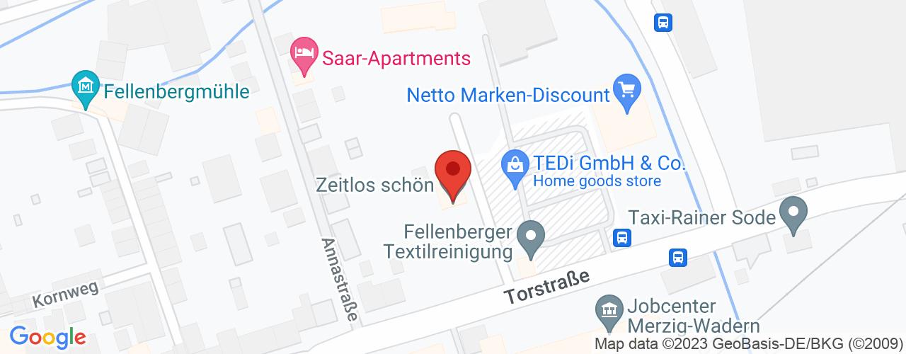 Karte von Bodymed-Center Merzig