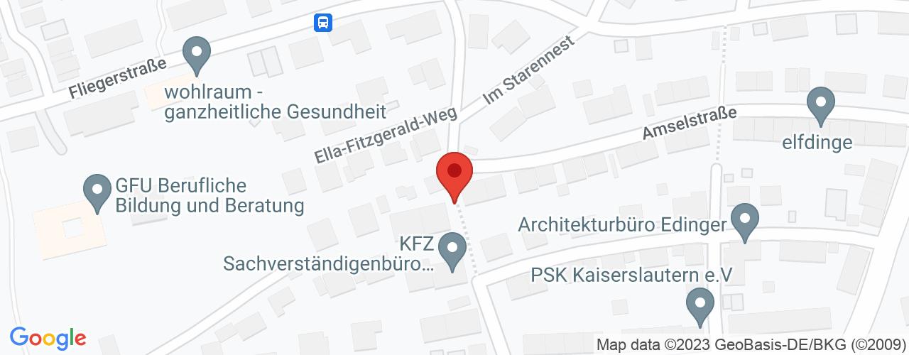Karte von Bodymed-Center Kaiserslautern