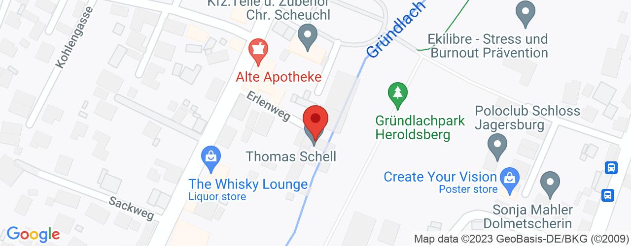 Karte von Bodymed-Center Heroldsberg