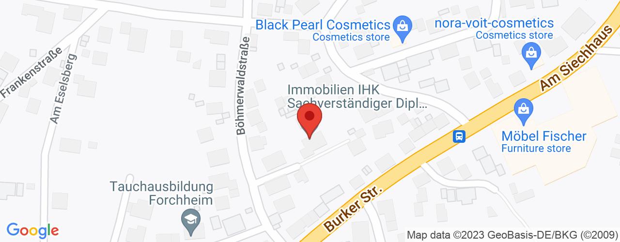 Karte von Bodymed-Center Forchheim