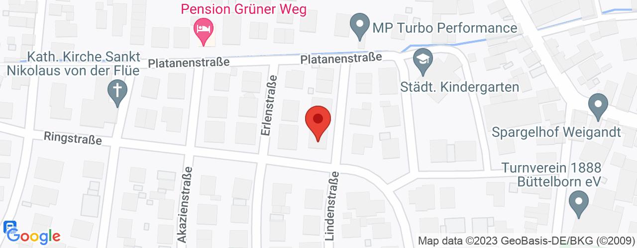 Karte von Bodymed-Center Büttelborn