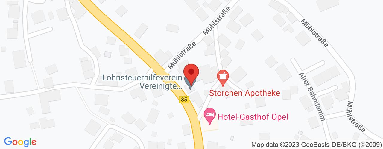 Karte von Bodymed-Center Heinersreuth