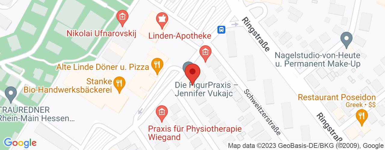Karte von Bodymed-Center Heusenstamm