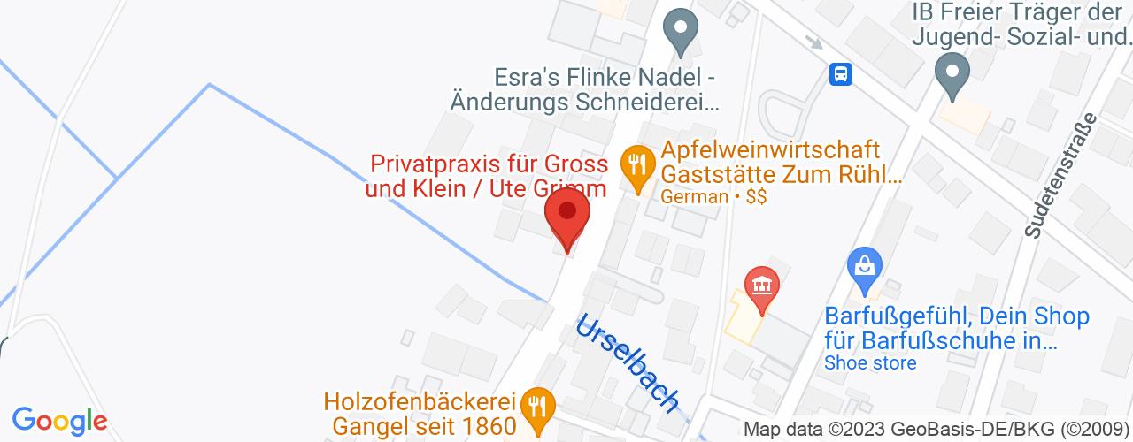 Karte von Bodymed-Center Oberursel