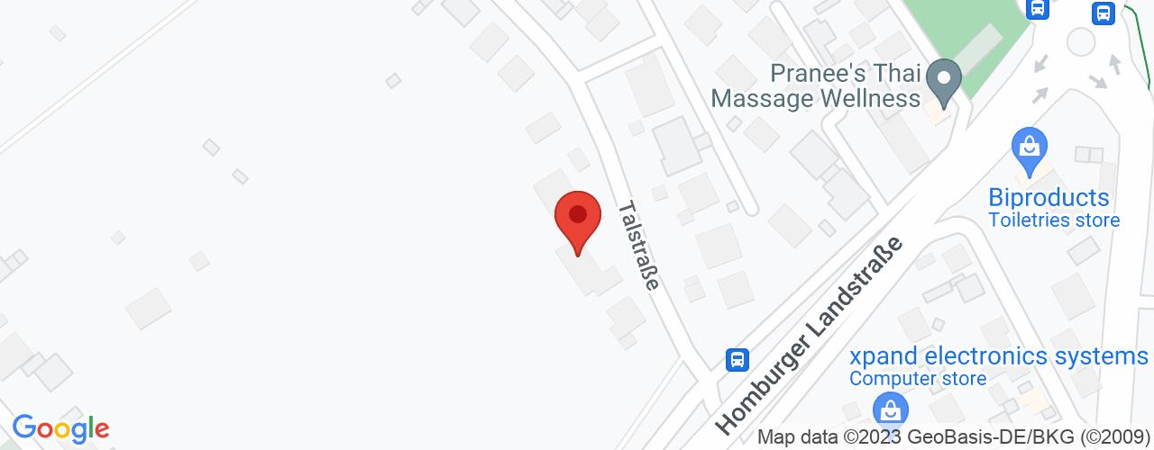 Karte von Bodymed-Center Friedrichsdorf