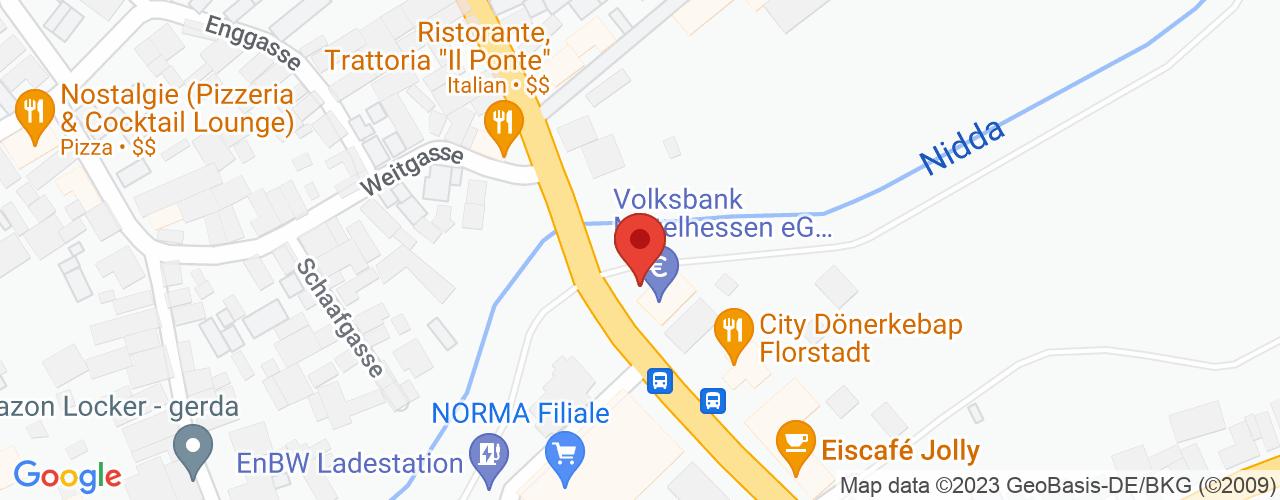 Karte von Bodymed-Center Florstadt