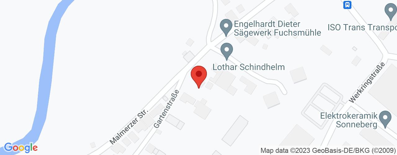 Karte von Bodymed-Center Sonneberg