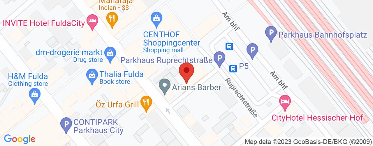 Karte von Bodymed-Center Fulda