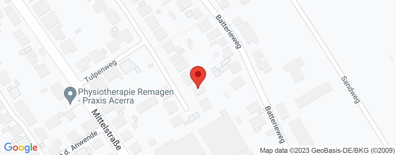Karte von Bodymed-Center Bad Breisig