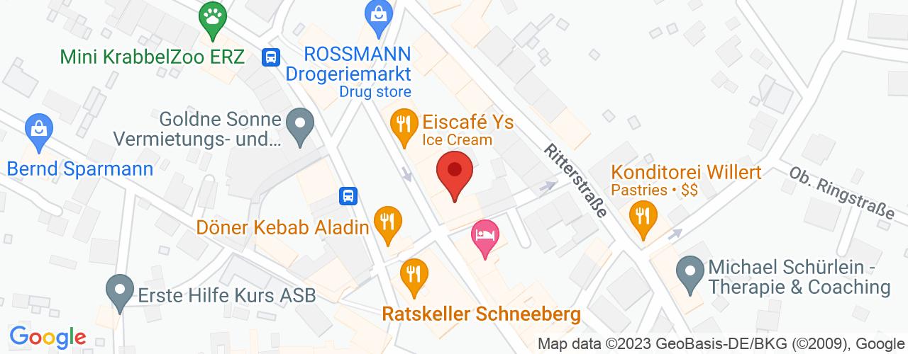 Karte von Bodymed-Center Schneeberg