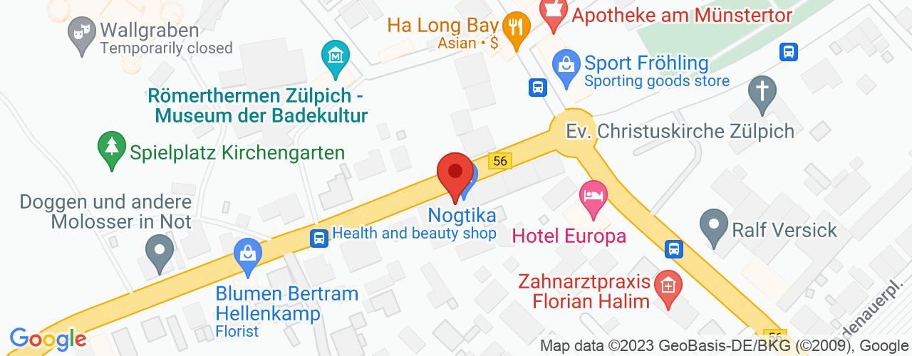 Karte von Bodymed-Center Zülpich