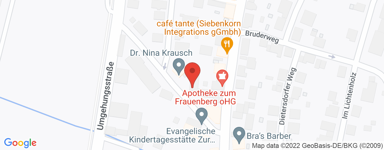 Karte von Bodymed-Center Marburg-Cappel