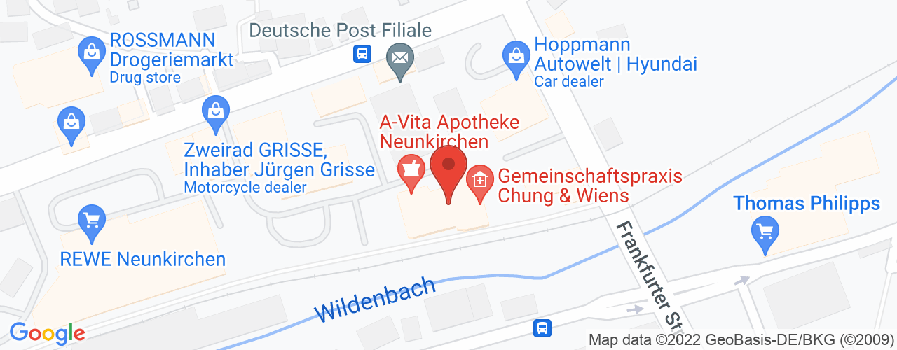 Karte von A-Vita Apotheke Frau Benevolo