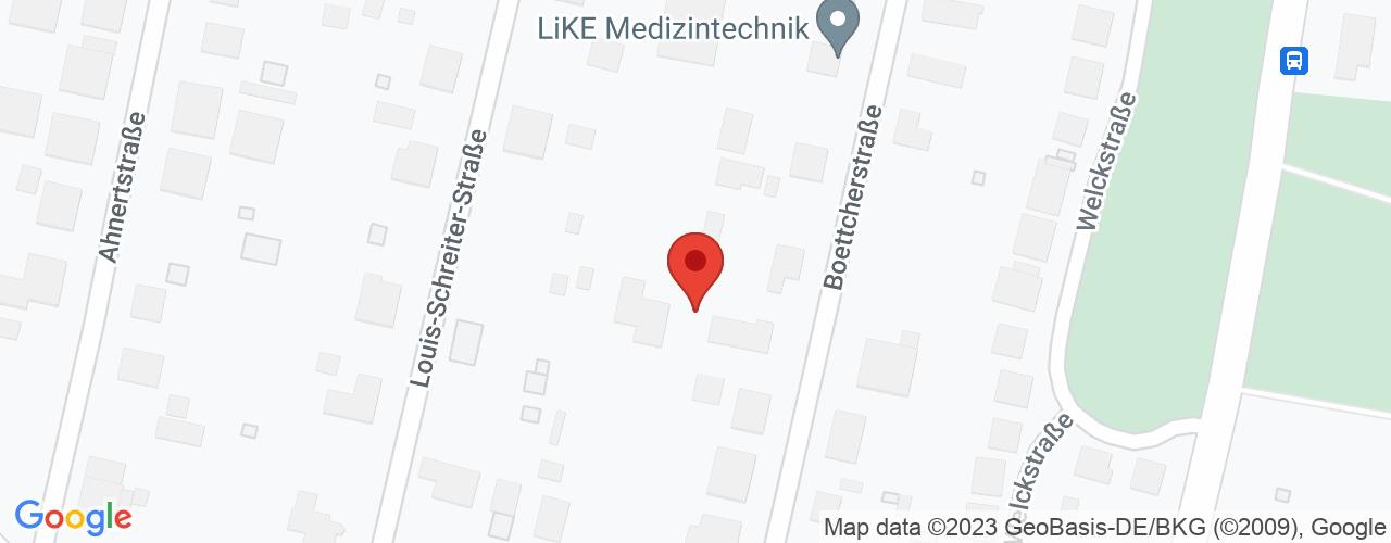 Karte von Bodymed-Center Chemnitz-Melcher