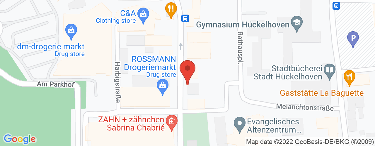 Karte von Bodymed-Center Hückelhoven