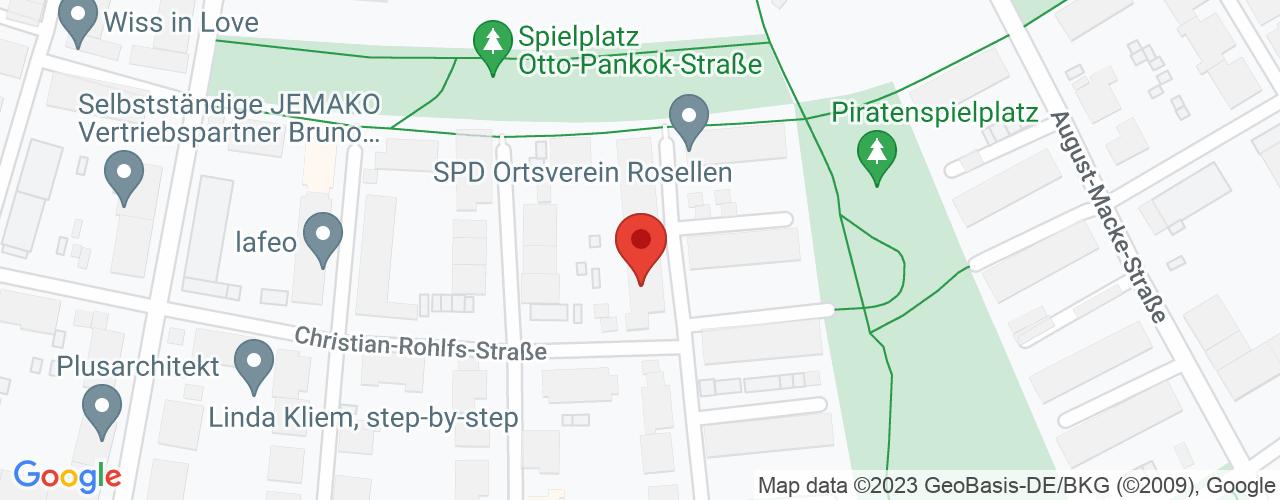 Karte von Bodymed-Center Düsseldorf-Süd