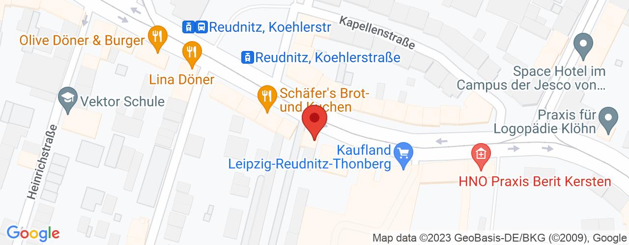 Karte von Bodymed-Center Leipzig-Süd