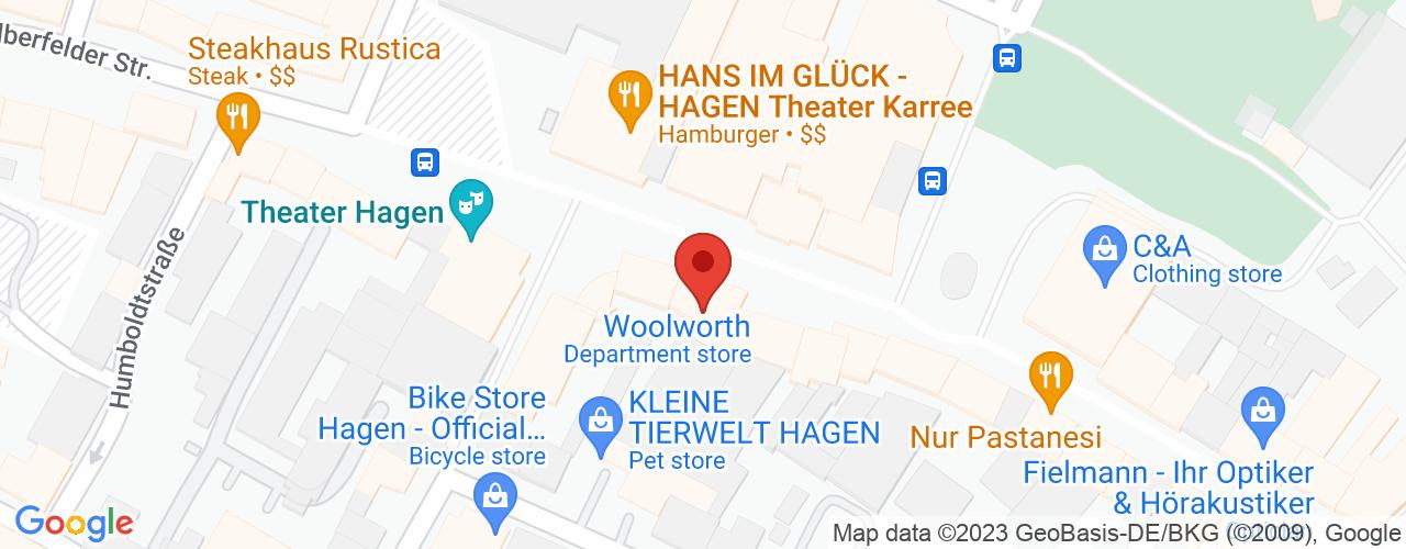 Karte von Bodymed-Center Hagen