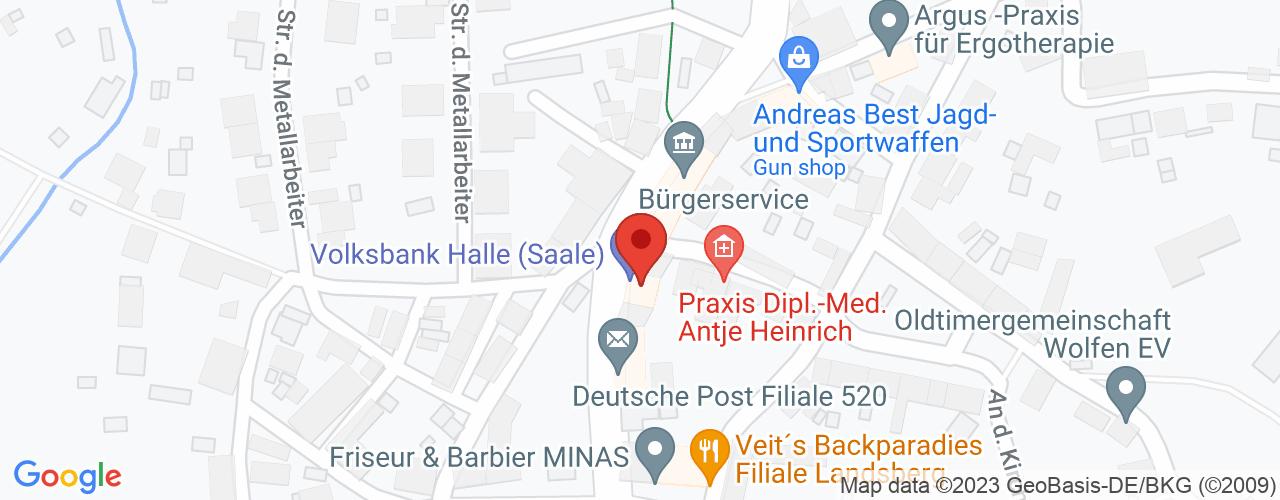 Karte von Bodymed-Center Landsberg