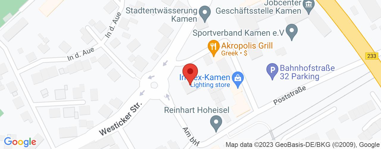 Karte von Bodymed-Center MKK Kamen