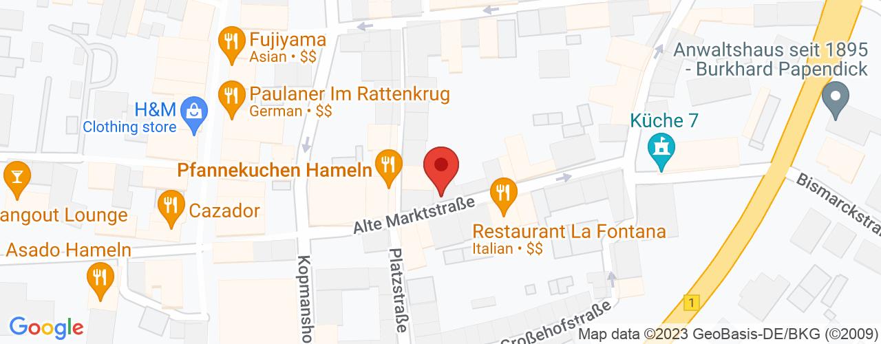 Karte von Bodymed-Center Hameln