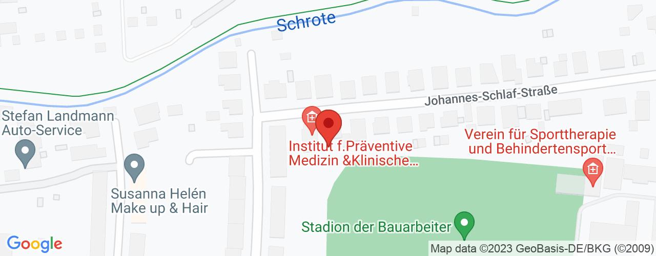 Karte von Bodymed-Center Magdeburg
