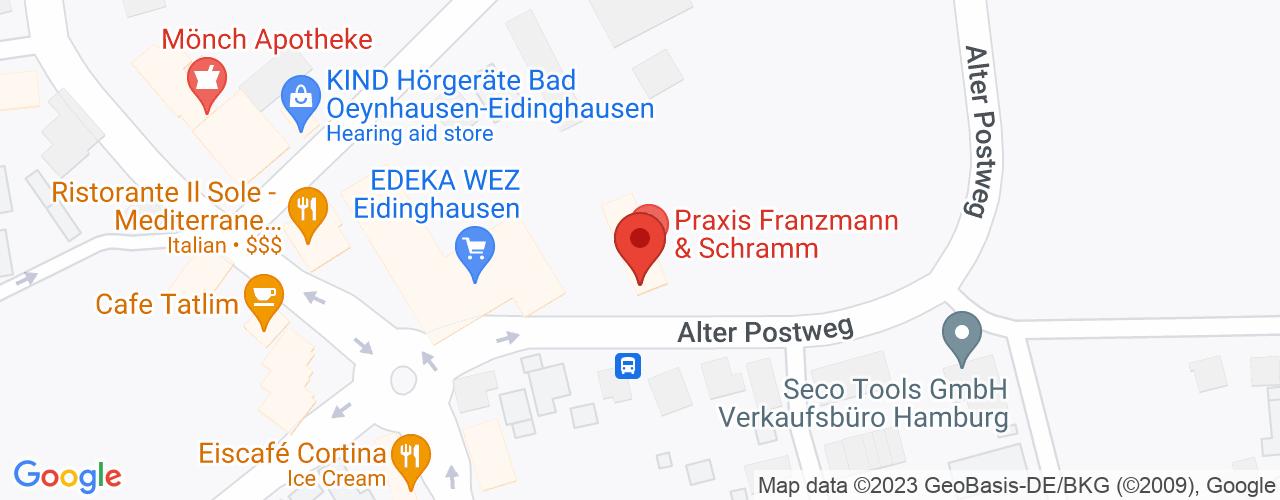 Karte von Bodymed-Center Oeynhausen