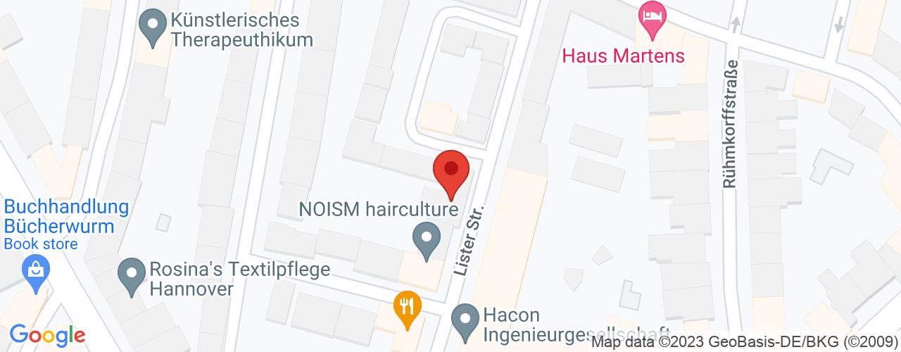 Karte von Bodymed-Center Hannover-List