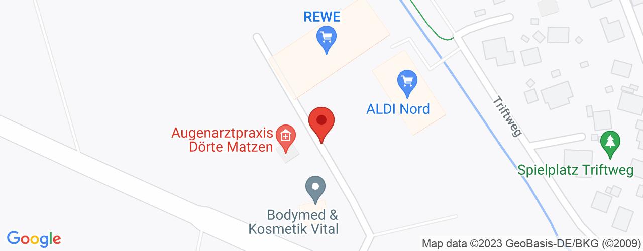 Karte von Bodymed-Center Isenbüttel