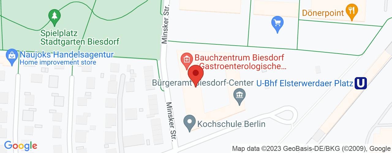 Karte von ♛ PREMIUM Bodymed-Center Berlin-Polivital GmbH
